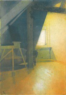Pokój I, 2009-10, akwatinta, akwaforta, sucha igła, 28.3 x 19.7 cm